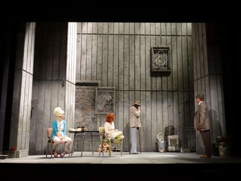 les acteurs dans Home de David Storey mise en scène Gerard Desarthe